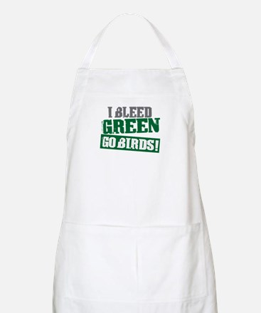 I Bleed Green (Philly) BBQ Apron