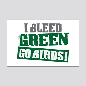 I Bleed Green (Philly) Mini Poster Print