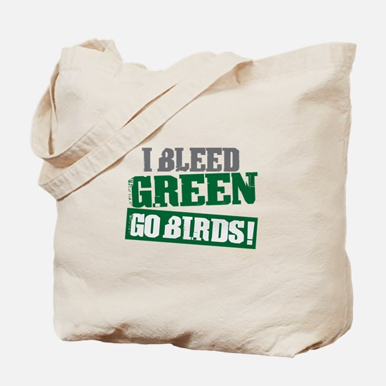 I Bleed Green (Philly) Tote Bag