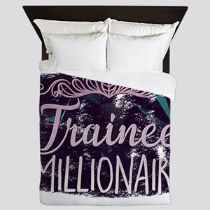 Trainee Millionaire Queen Duvet