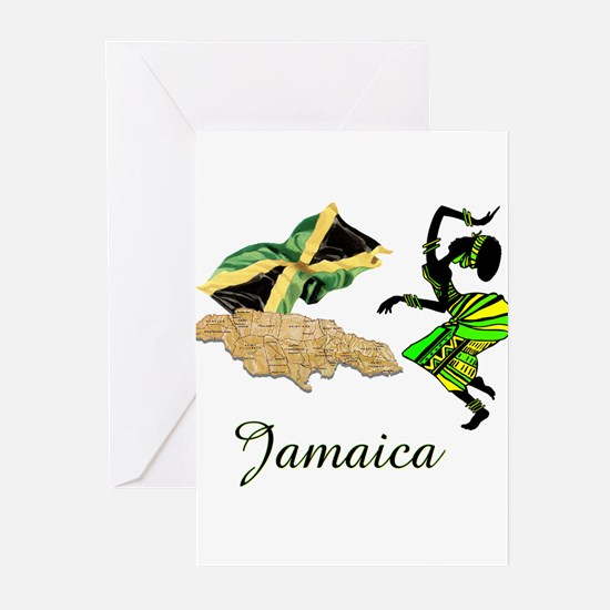 Jamaica Greeting Cards (Pk of 10)