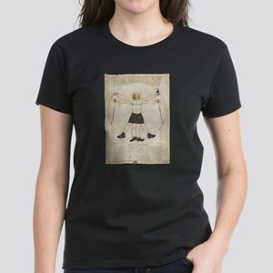 Leonardo's Hiker Women's Dark T-Shirt