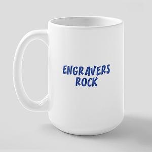 ENGRAVERS  ROCK Large Mug