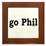 go Phil Framed Tile