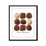 Chocolate Lover Framed Panel Print