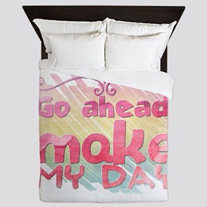 Go ahead, make my day Queen Duvet