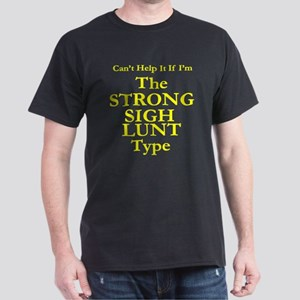 Strong & Silent - From the Heart Dark T-Shirt