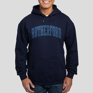 Rutherford Collegiate Style Name Hoodie (dark)
