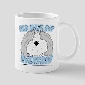 Bad Hair Day Sheepdog Mug