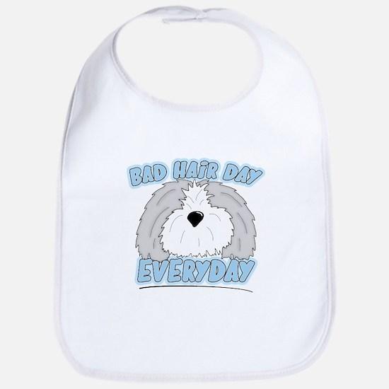 Bad Hair Day Sheepdog Bib