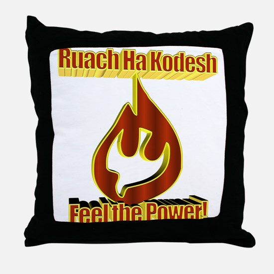 Feel the Power! Throw Pillow