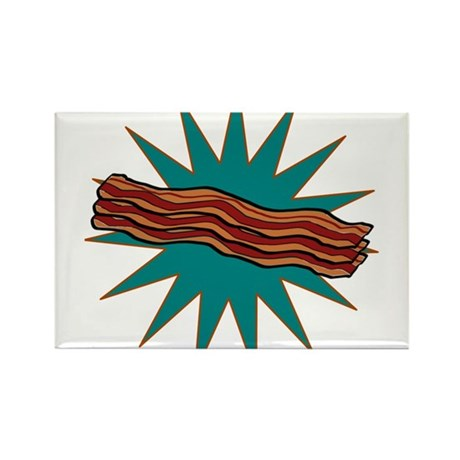 Bacon! Rectangle Magnet (10 pack)