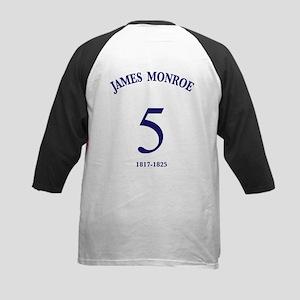 James Monroe Kids Baseball Jersey