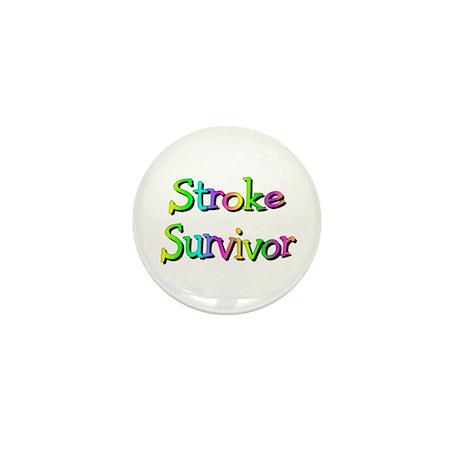Stroke Survivor Mini Button