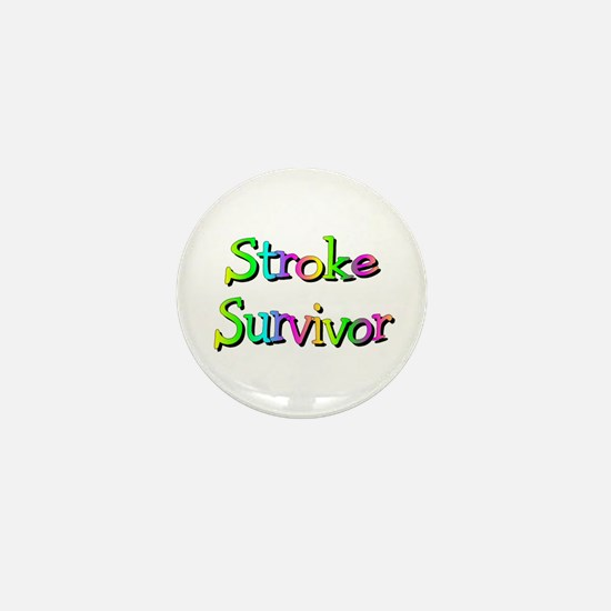 Stroke Survivor Mini Button