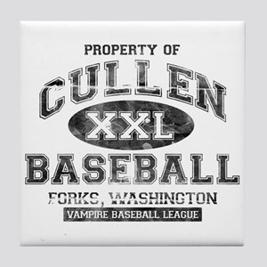 Property of Cullen Baseball Tile Coaster