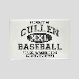 Property of Cullen Baseball Rectangle Magnet