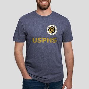 U S Public Health Service <BR>Black T-Shirt 1 T-Sh
