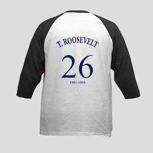 Theodore Roosevelt Kids Baseball Jersey
