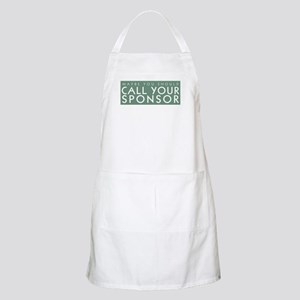 Call Your Sponsor BBQ Apron