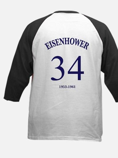 Dwight D Eisenhower Kids Baseball Jersey