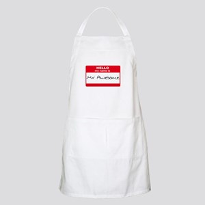 My Name Is Mr Awesome BBQ Apron