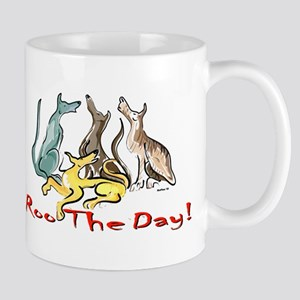 Greyhound Roo Color Mug
