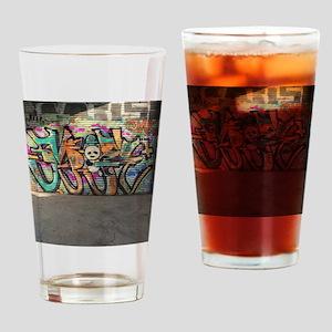 Graffiti art I did Drinking Glass