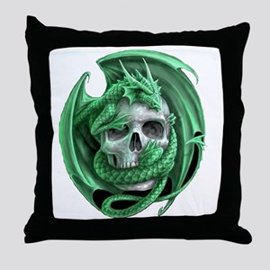 Dragon and Friend 3 Throw Pillow