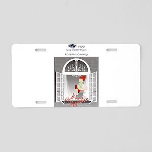 designP Aluminum License Plate