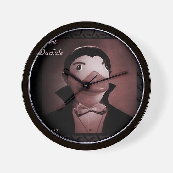 Count Duckula Wall Clock