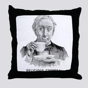Delicious Coffee! Throw Pillow