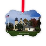 Mcgulpin Point Lighthouse Picture Ornament