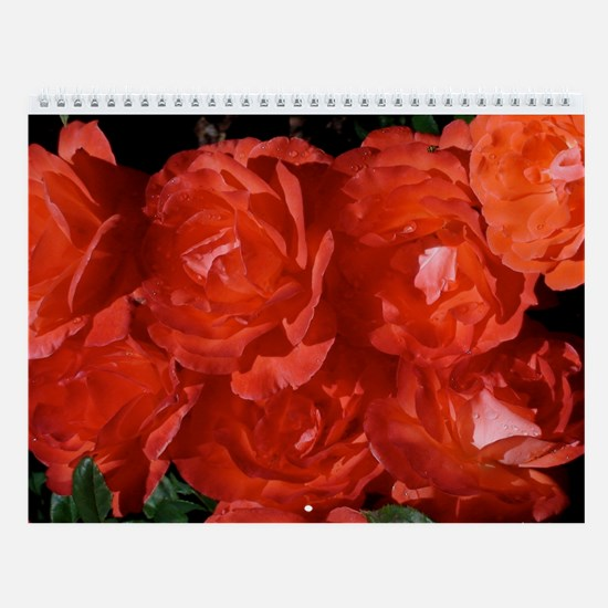 Bunches of Roses Calendar