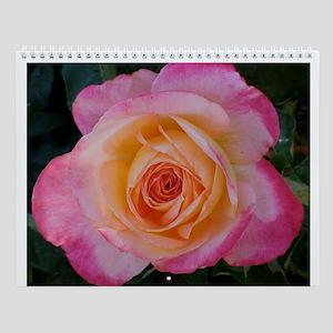 Pink Rose Calendar