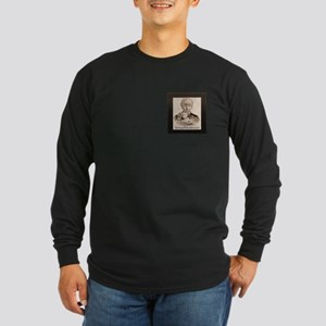 Great Tea Fr. Long Sleeve Dark T-Shirt