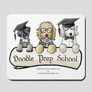 Doodle Prep School Mousepad