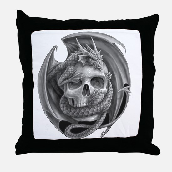 Dragon and Friend 6 Throw Pillow
