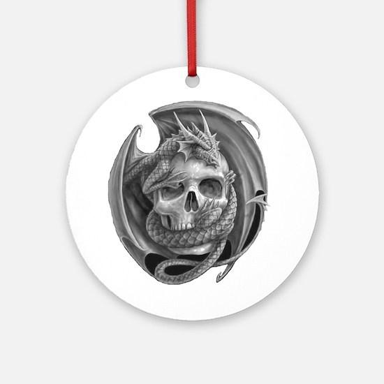Dragon and Friend 6 Ornament (Round)