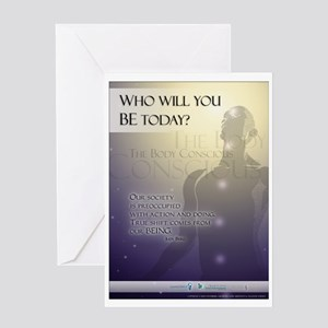 Who will you BE? Greeting Card