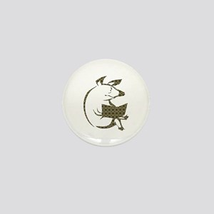 Literary Pig Mini Button