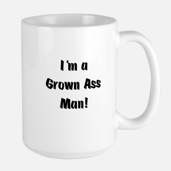 Grown Ass Man Large Mug