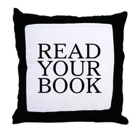Read Your Book Throw Pillow