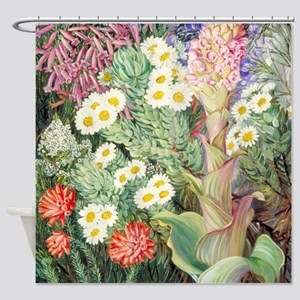 A Selection of Flowers from Table M Shower Curtain