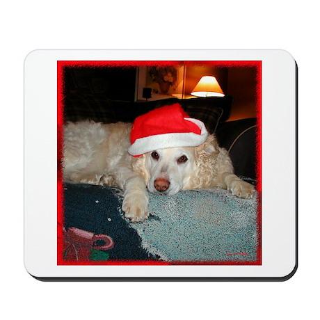 Santa Dog Mousepad