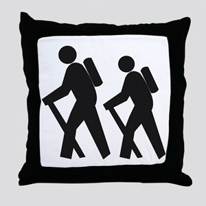 Hiking2 Throw Pillow