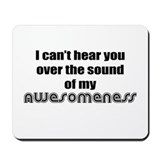 Funny awesome Classic Mousepad