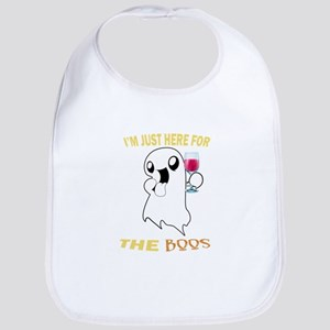 Just here for the boos Baby Bib