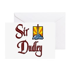 Sir Dudley Greeting Cards (Pk of 10)