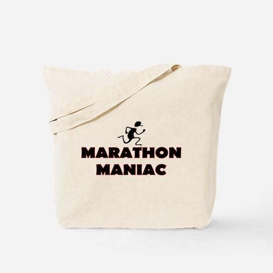 Marathon Maniac Tote Bag